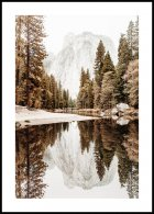 Yosemite Valley River Poster