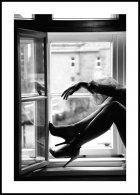 Window High Heels Poster