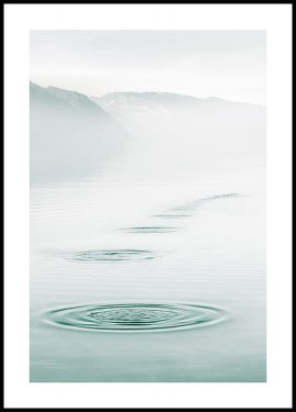 Water Ripples Poster