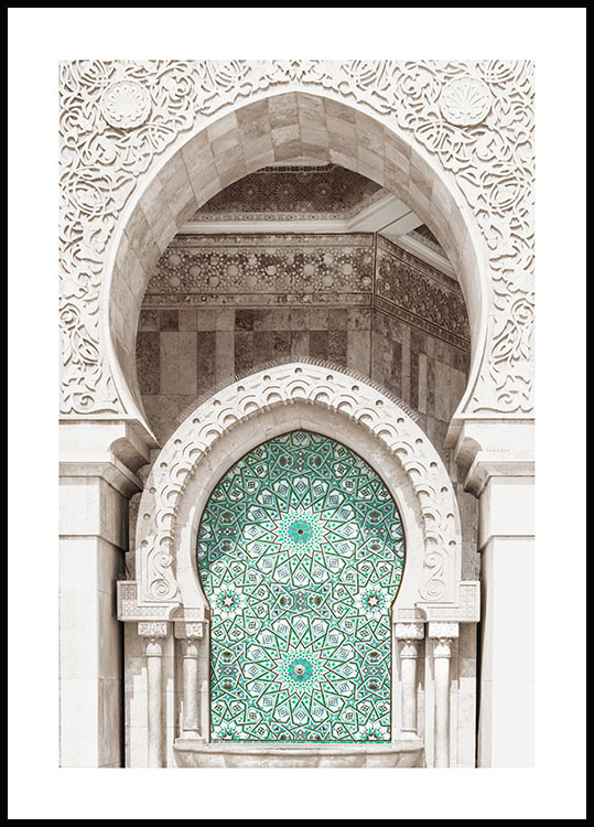 Moroccan Mosaic Poster